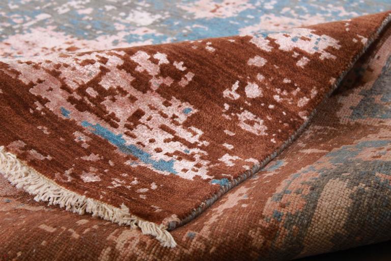 Zeitgenössischer indischer Teppich 3