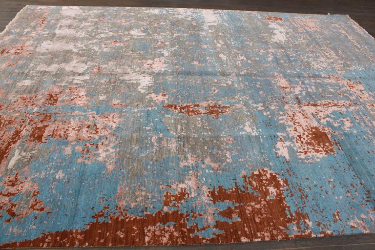 Zeitgenössischer indischer Teppich 7