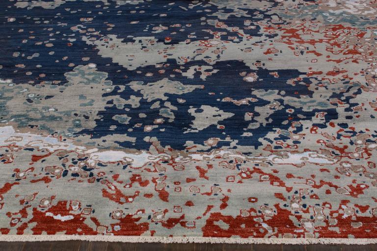 Zeitgenössischer indischer Teppich 5