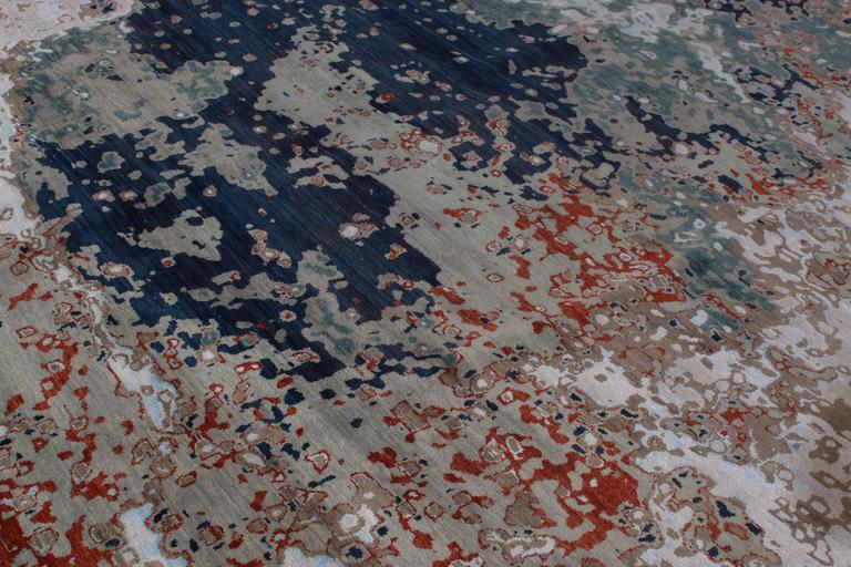 Zeitgenössischer indischer Teppich 8