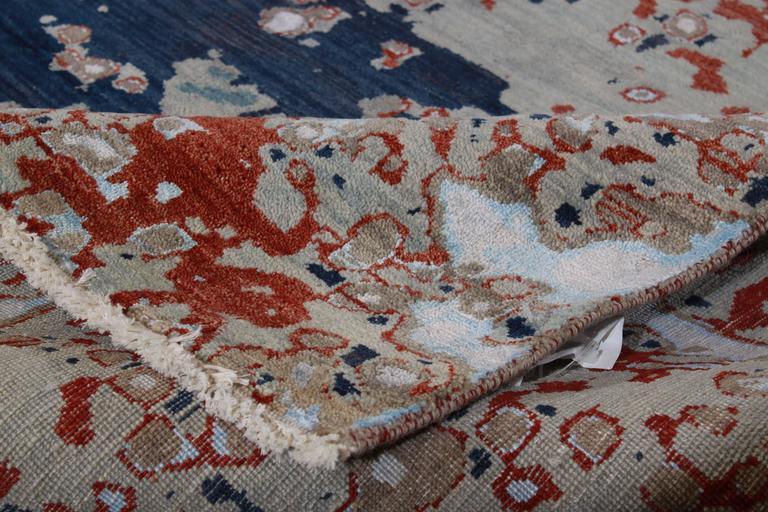 Zeitgenössischer indischer Teppich 9