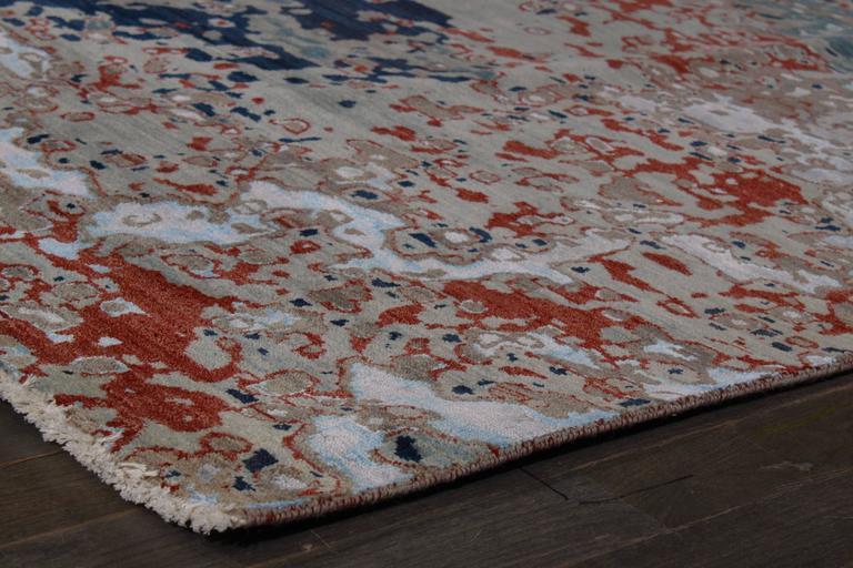 Zeitgenössischer indischer Teppich 10
