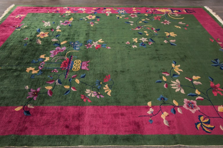 Chinese deco rug for sale at 1stdibs for Chinese furniture norwalk ct