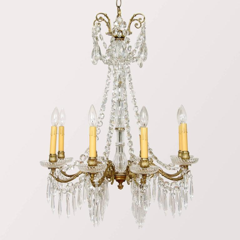 Louis Xvi Style Electrified Candle Fixture For Sale At 1stdibs