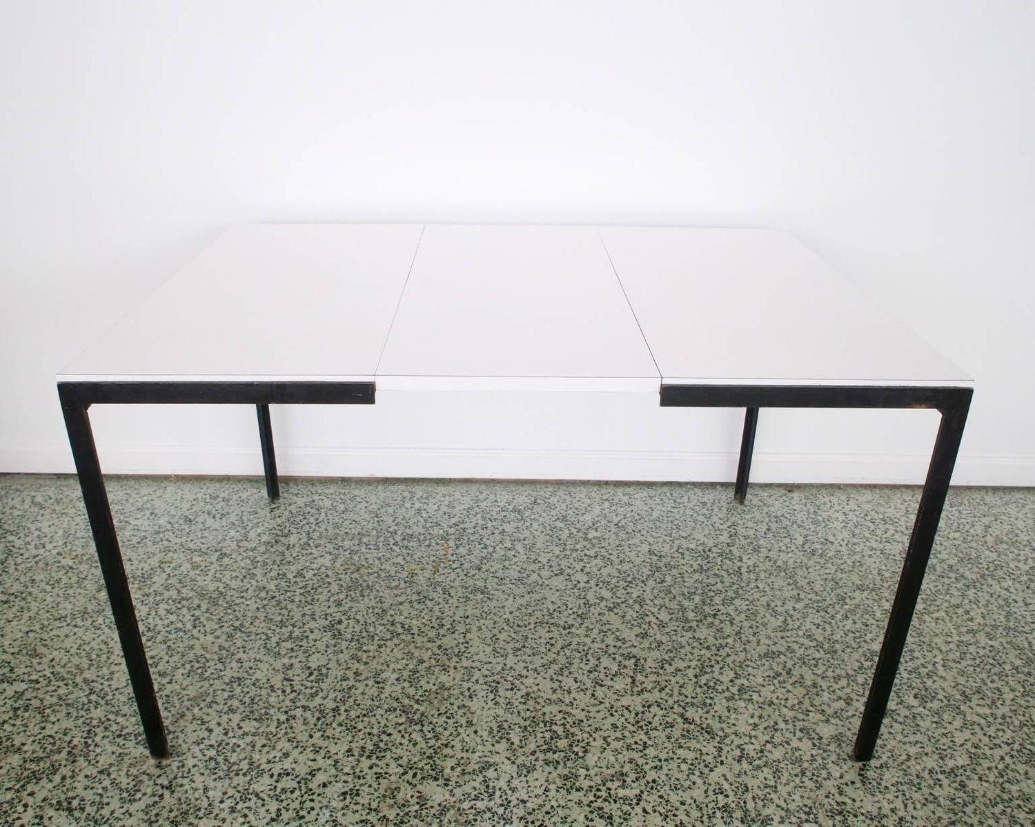 knoll for knoll drop leaf dining table desk for sale at 1stdibs
