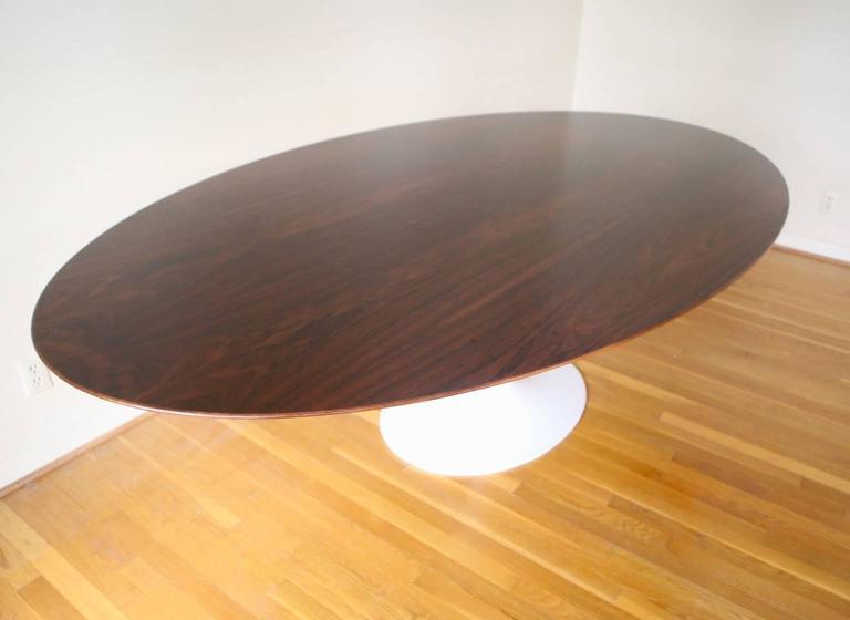 Rare Saarinen Walnut Dining Table At Stdibs - Saarinen table 96