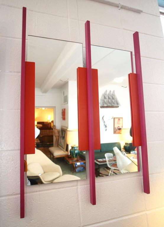 Memphis Style Wall Mirror At 1stdibs