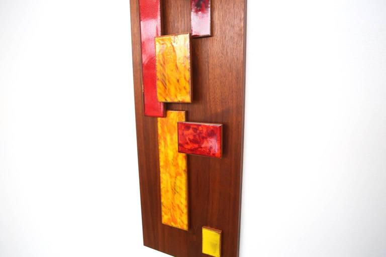 Harris Strong Abstract Wall Art Sculpture In Excellent Condition For Sale In St. Louis, MO