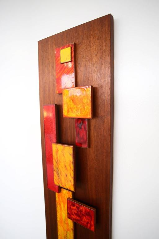 Harris Strong Abstract Wall Art Sculpture For Sale 1