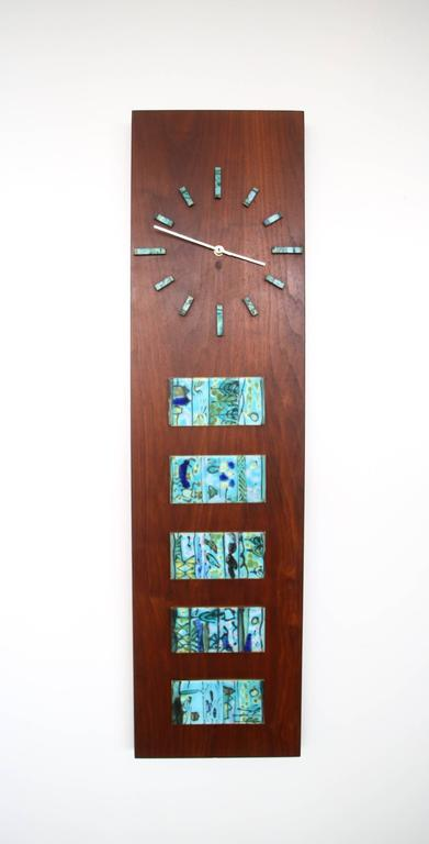 Harris Strong Tile Wall Clock At 1stdibs