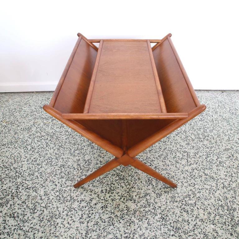 Mid-20th Century T.H. Robsjohn-Gibbings Magazine Table for Widdicomb For Sale