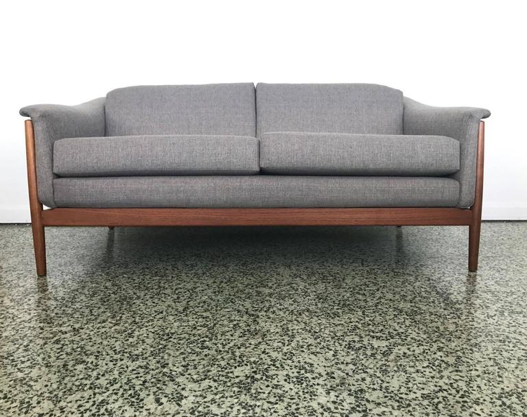 folke ohlsson mid century danish sofa by dux at 1stdibs