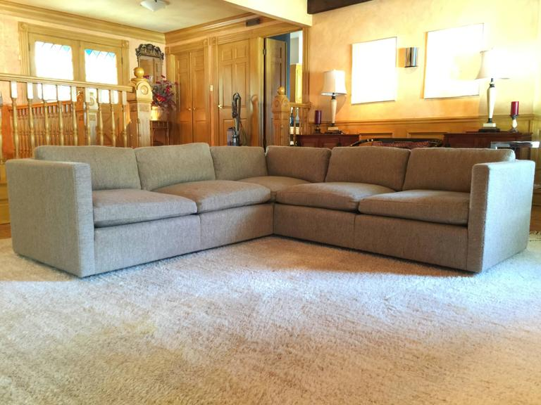 Attrayant A Mid Century Modern Classic And Understated Sectional Sofa Designed By  Charles Pfister For Knoll