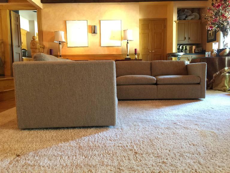 Modular Charles Pfister For Knoll Sectional Sofa At 1stdibs