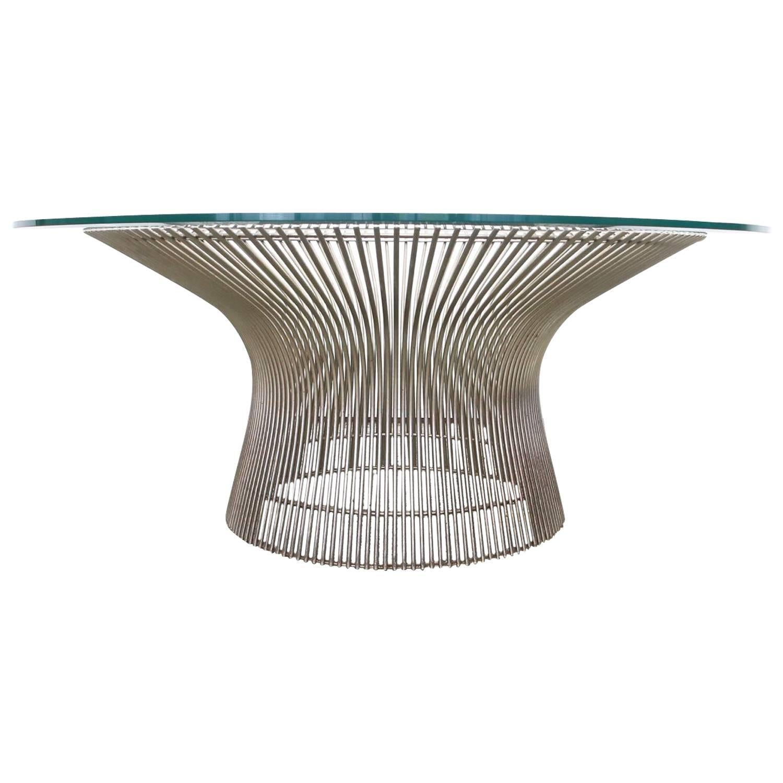 Warren Platner Coffee Table By Knoll For Sale