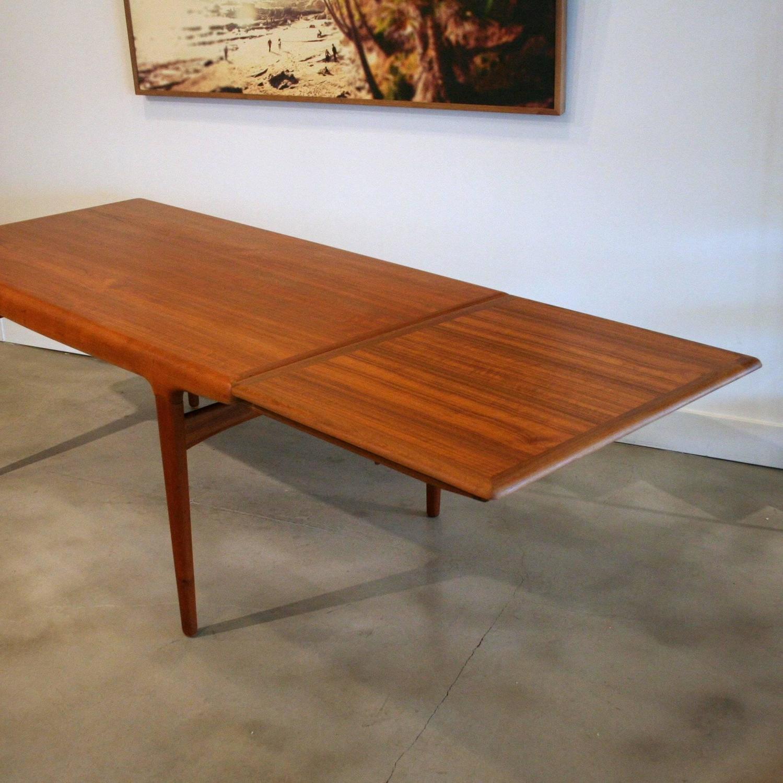 Vintage Danish Teak Dining Table By Johannes Andersen At