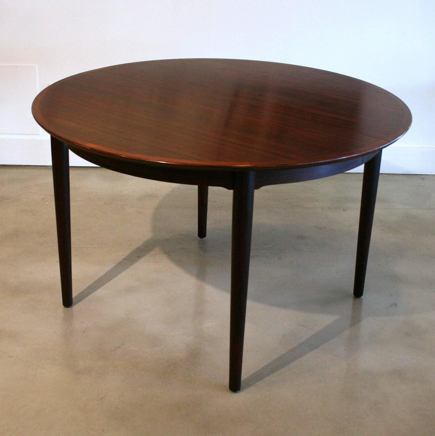 Vintage Danish Rosewood Extendable Dining Table by Arne  : IMG6967z from www.1stdibs.com size 1499 x 1500 jpeg 180kB