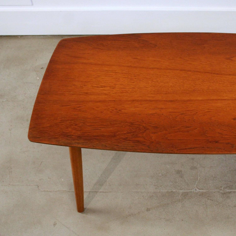 Vintage Danish Small-Scale Teak Coffee Table At 1stdibs