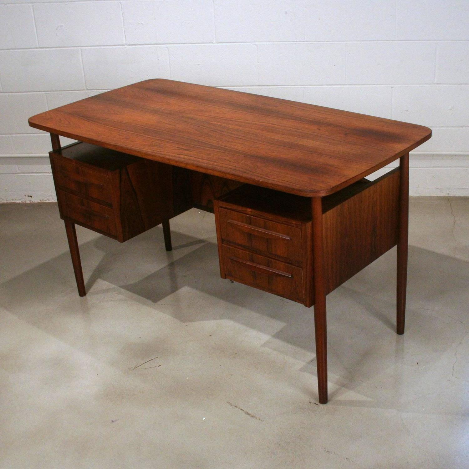 #34190B Vintage Danish Rosewood Writing Desk For Sale At 1stdibs with 1499x1500 px of Best Vintage Writing Desks 15001499 image @ avoidforclosure.info