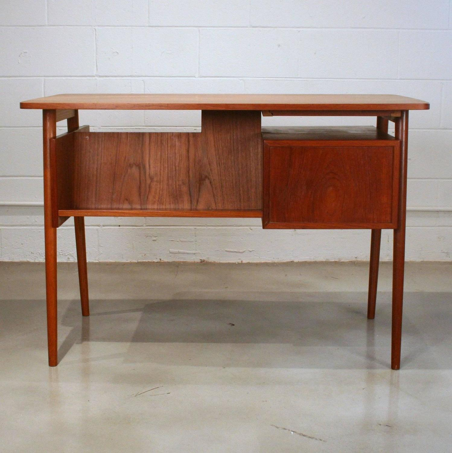 #AA5021 Vintage Danish Teak Writing Desk At 1stdibs with 1498x1500 px of Best Vintage Writing Desks 15001498 image @ avoidforclosure.info