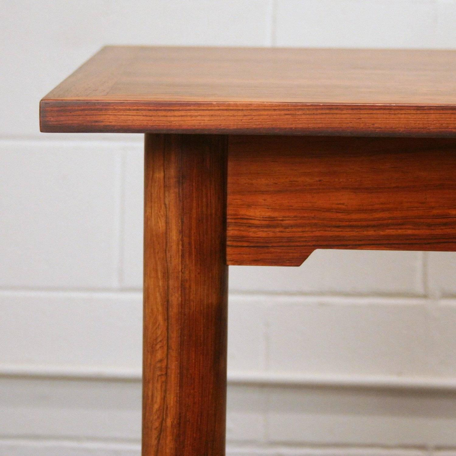 Vintage Danish Rosewood Dining Table For Sale At 1stdibs