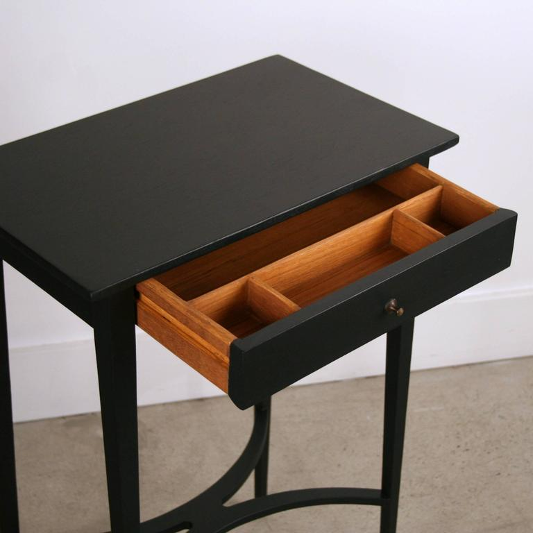 Tall Black Side Table With Drawer For Sale At 1stdibs. Desk Reference To The Diagnostic Criteria From Dsm 5. Vintage French Provincial Desk. Coffee Tables Round. Activity Table Toddler. Under Counter Microwave Drawer. Rrd Help Desk. Ikea Gustav Desk. Open Source Help Desk Ticket System