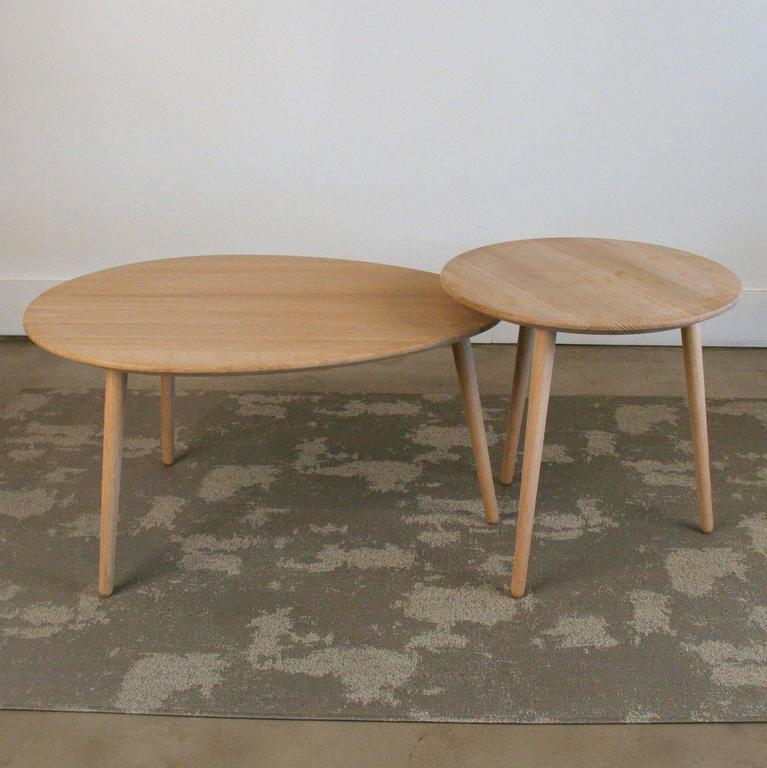 VIA CPH Soaped Oak Egg Coffee Table For Sale At 1stdibs
