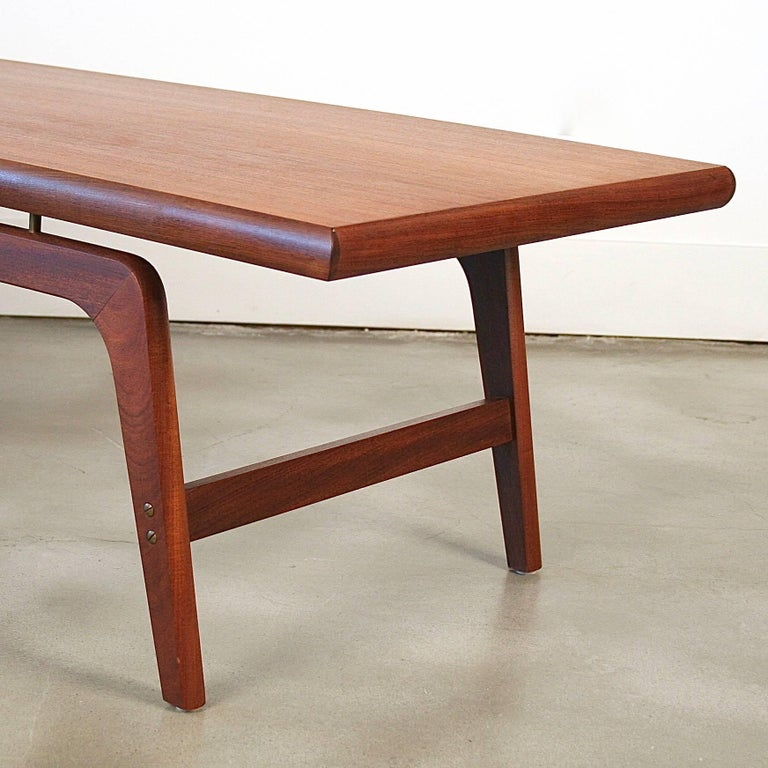 Vintage Danish Teak Coffee Table For Sale At 1stdibs
