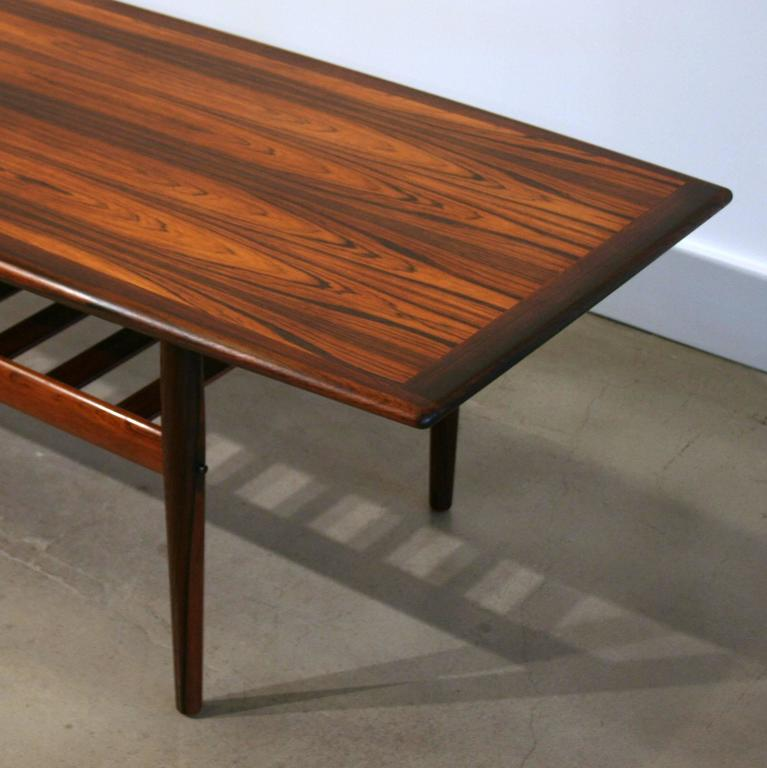 Vintage Danish Rosewood Coffee Table By Grete Jalk 2