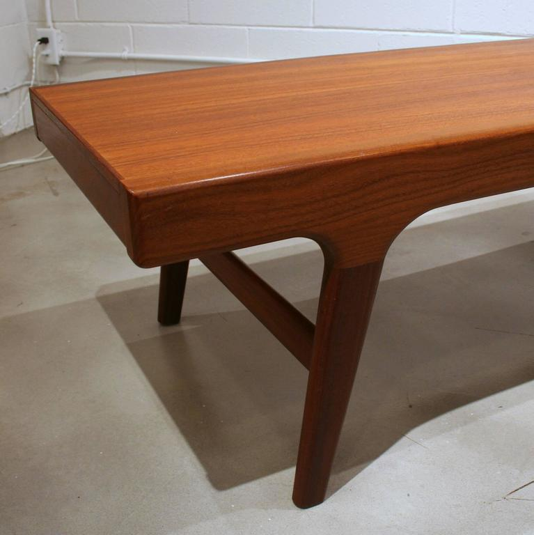 Vintage Teak Coffee Tables: Vintage Danish Teak Coffee Table At 1stdibs