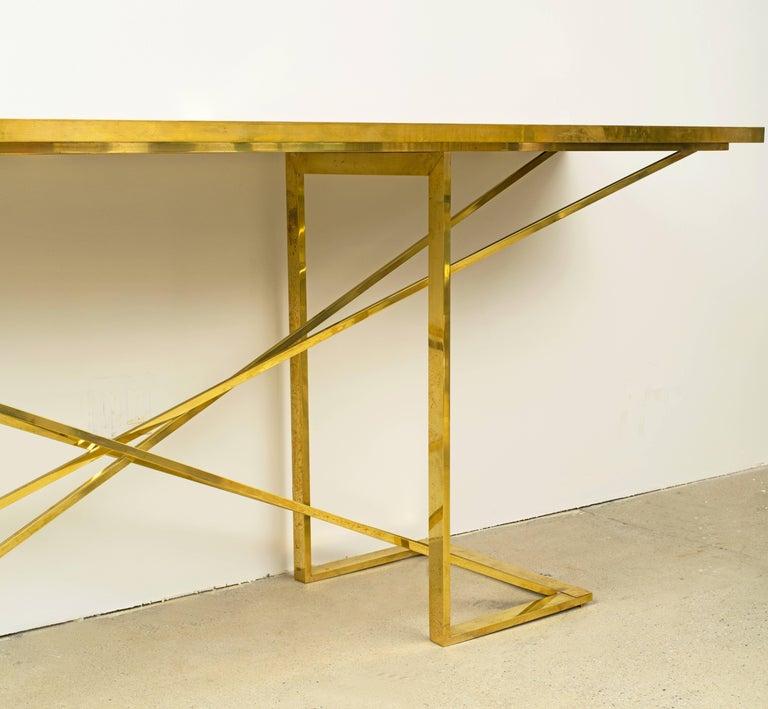 Italian Romeo Rega Console Table  For Sale