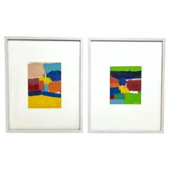Pair of Eugene Healy Paintings on Paper