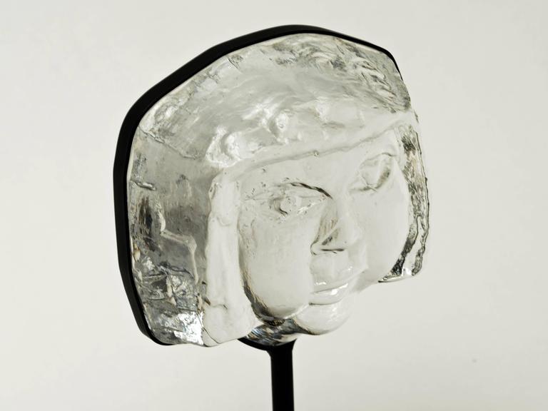 1960s Erik Hoglund Glass Sculpture By Boda At 1stdibs