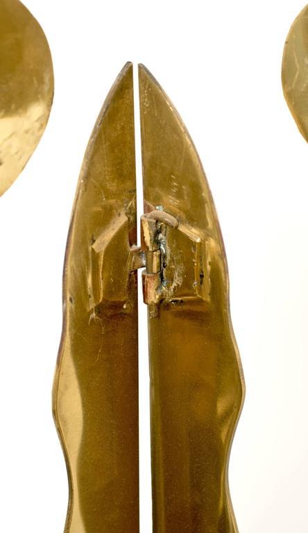 Brass Totem Sculpture by Robert Zeidman For Sale 1