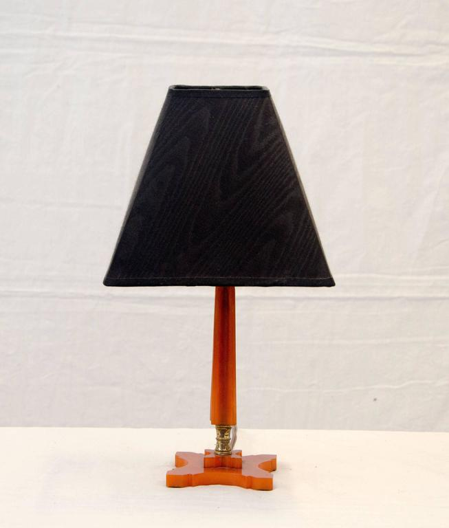 Vanity Dresser Lamp : Pair of Art Deco Bakelite Dresser or Vanity Lamps at 1stdibs