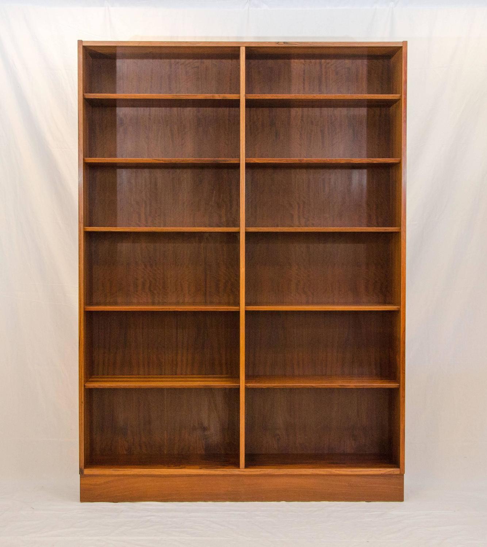 Rosewood Bookcase: Brazilian Rosewood Bookcase Or Bookshelf By Poul Hundevad