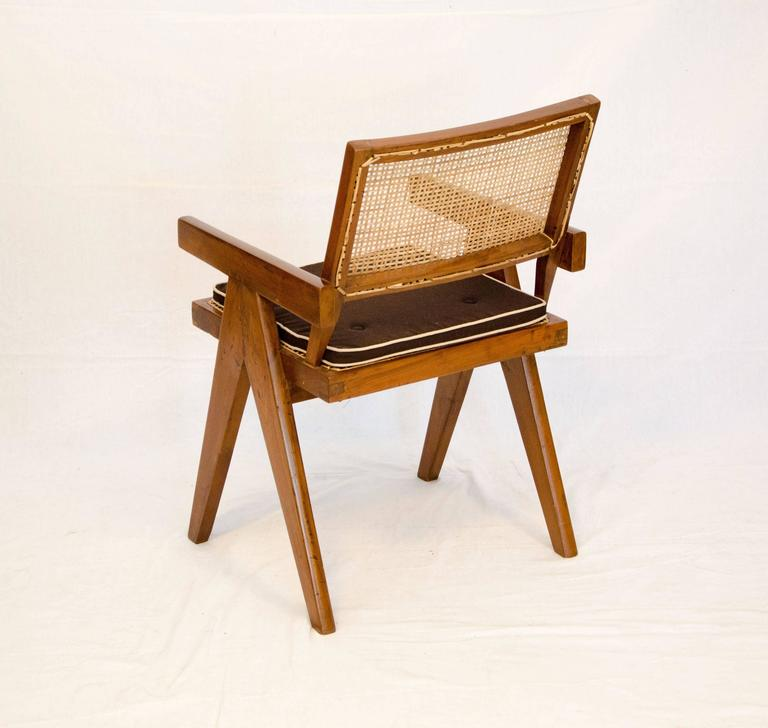 Pierre Jeanneret Office / Armchair at 1stdibs
