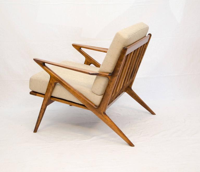 Danish z lounge chair poul jensen for selig at 1stdibs - Poul jensen z chair ...