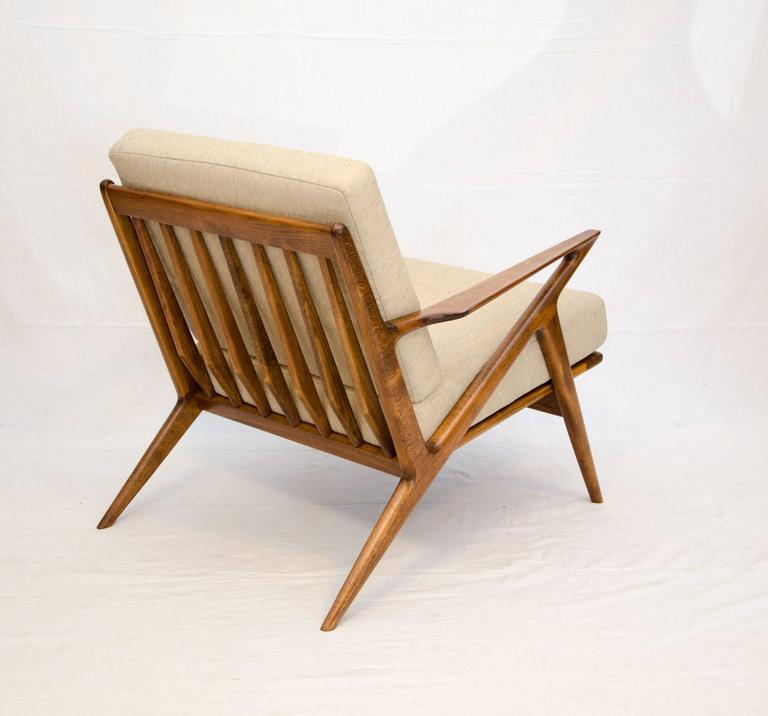Danish z lounge chair poul jensen for selig at 1stdibs for Poul jensen z chair