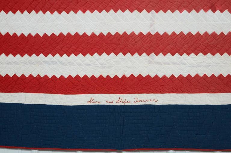 American Patriotic Quilt Titled