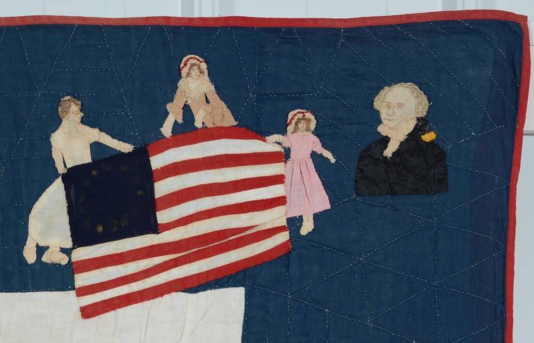 Patriotic Quilt Titled