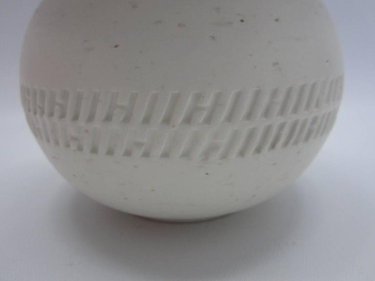 Hermes Textured Ceramic Pots Set Of Three At 1stdibs