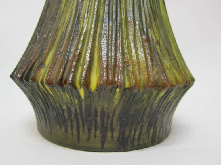 Marcello Fantoni Pottery Vase For Raymor Italy 1950s For
