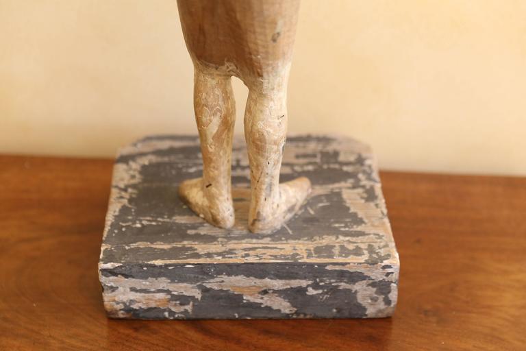 19th Century Religious Santo Figure For Sale 1