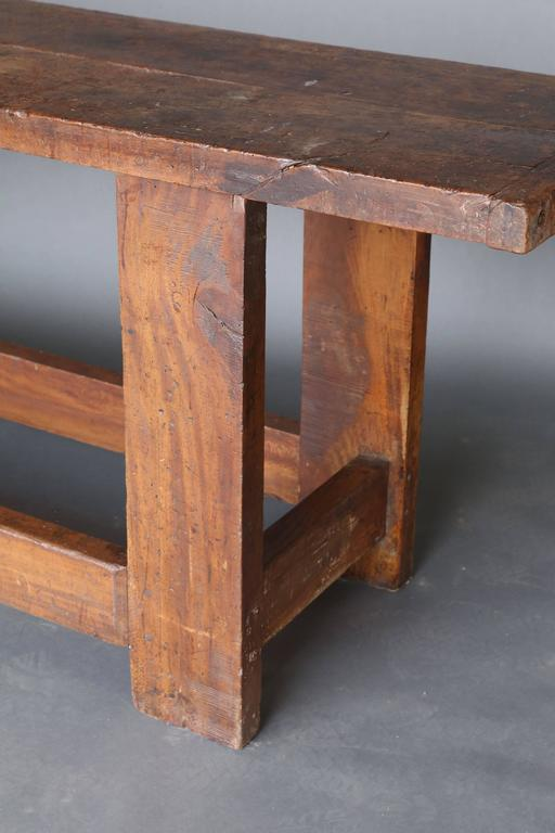 Long Narrow 19th Century Workbench 3