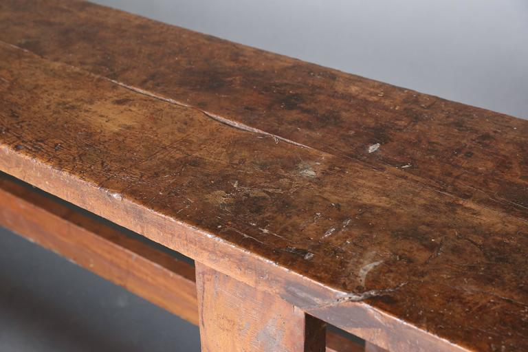 Long Narrow 19th Century Workbench 5