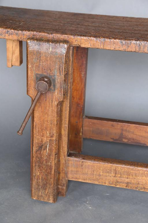 Long Narrow 19th Century Workbench 7