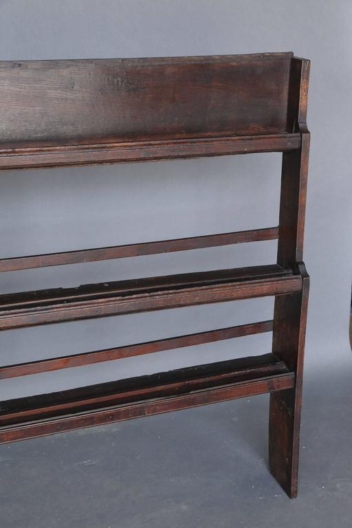 19th Century Oak Plate Rack For Sale 4 & 19th Century Oak Plate Rack For Sale at 1stdibs
