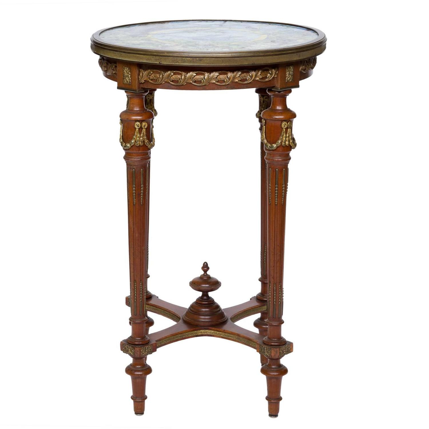 louis xvi side tables at 1stdibs. Black Bedroom Furniture Sets. Home Design Ideas