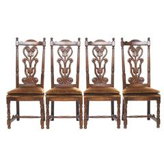 Set of Four Vintage Side Chairs